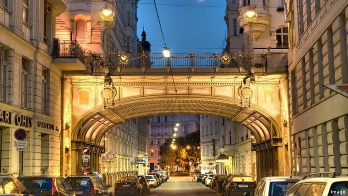 Street view of Vienna