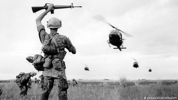 Vietnam 50 Jahre Tet-Offensive BG | US-Soldaten in der Nähe von Saigon 1968