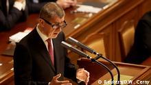 Tschechien Andrej Babis, Premierminister