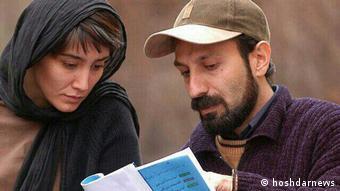 Iran - Hedyeh Tehrani und Asghar Farhadi (hoshdarnews)