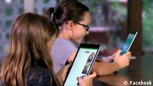 Bild 4 SHID180115_001_FacebookKids_021R Titel: DW Shift, Kinder vor Tablet Schlagworte: Internet,Kinder, Tablet, Social Media Wer hat das Bild gemacht/Fotograf?: Facebook Bildbeschreibung: Kinder an Tablet