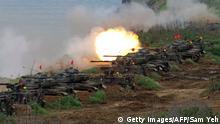 Taiwan Militär-Manöver mit M60 A3-Panzer aus US-Produktion