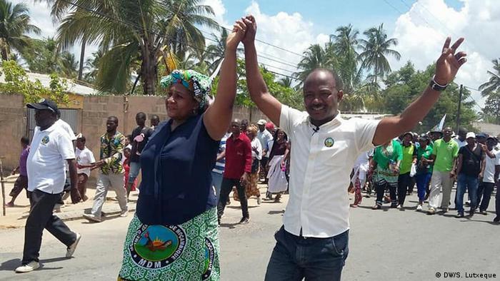 Mosambik Carlos Saide MDM-Kandidat bei den Zwischenwahlen in Nampula