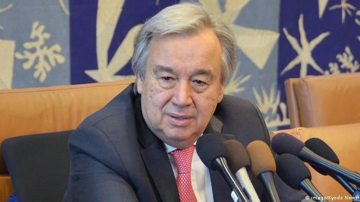 UN-Generalsekretär Antonio Guterre (imago/Kyodo News)