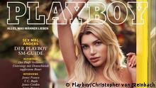 Playboy-Cover mit Giuliana Farfalla