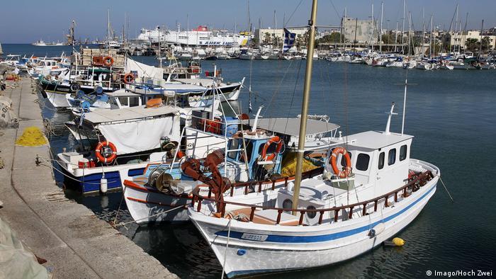 Гавань міста Іракліон на Криті