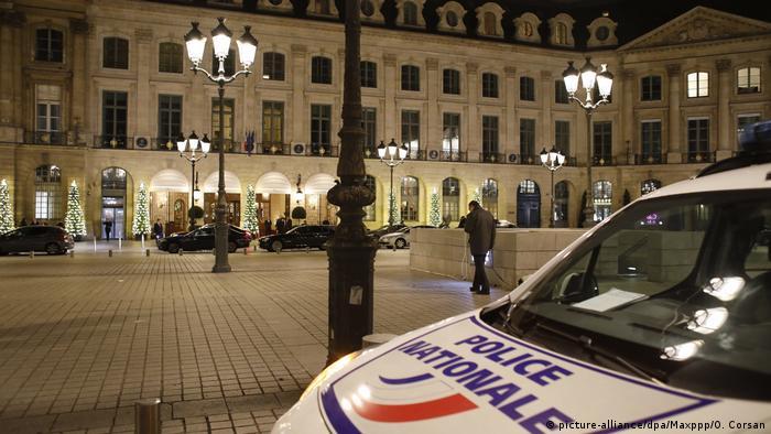Raubüberfall Ritz Hotel in Paris