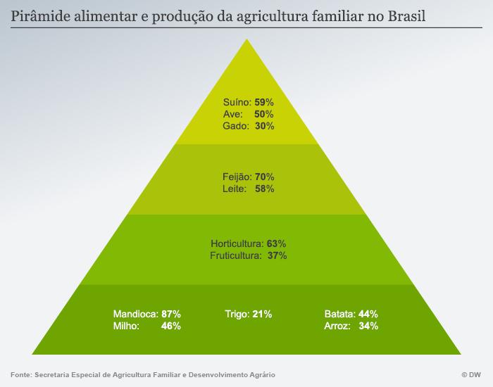 Infografik Ernähungspyramide Brasilien POR