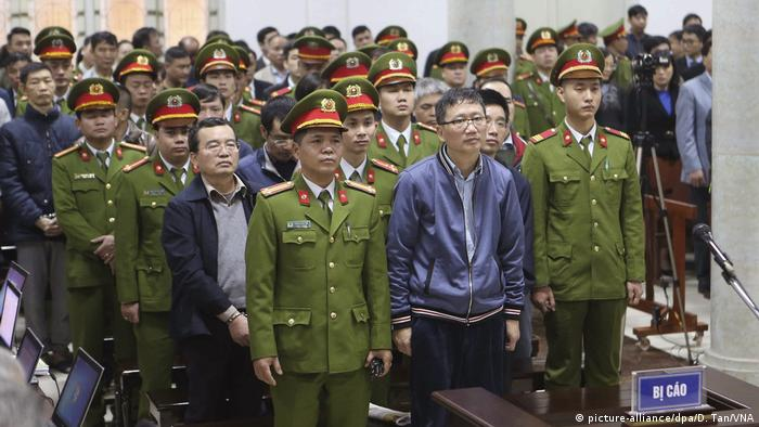Trinh Xuan Thanh on trial in Hanoi