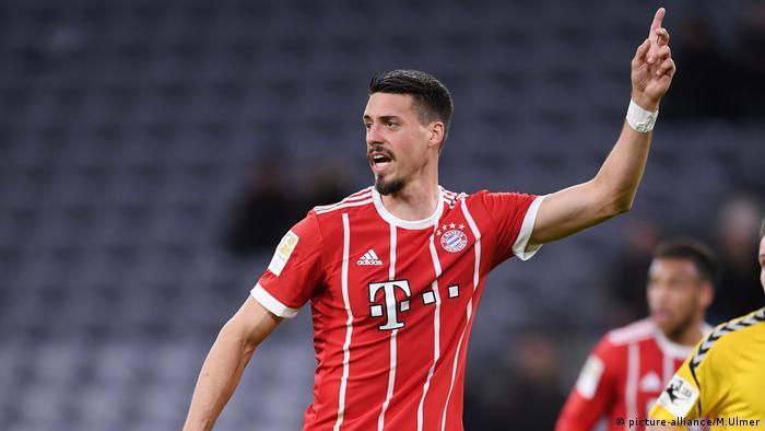 Fussball 1. Bundesliga 17/18; Testspiel: FC Bayern Muenchen - SG Sonnenhof Grovüaspach (picture-alliance/M.Ulmer)