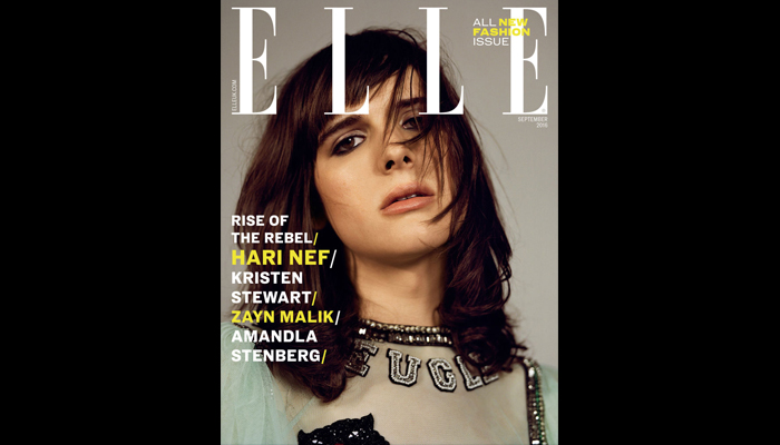 Hari Nef - Elle UK - September 2016
