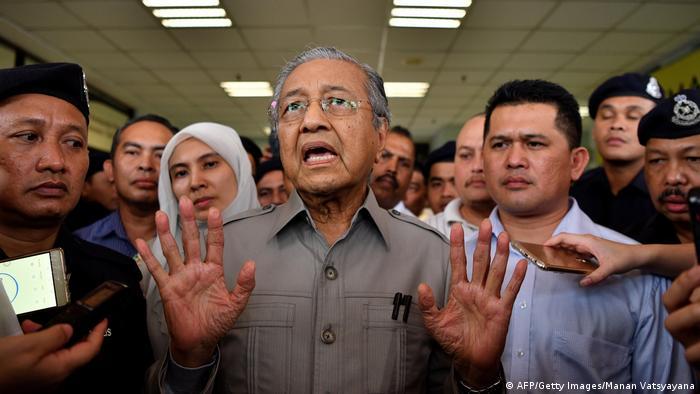 Mahathir Mohamad Malaysia (AFP/Getty Images/Manan Vatsyayana)