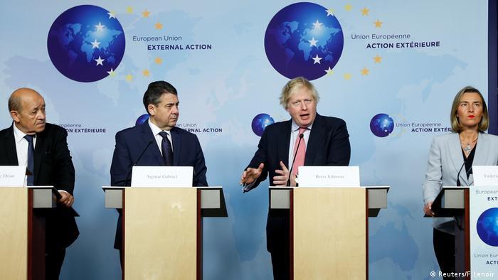 Brüssel Iran EU Treffen Außenminister (Reuters/F.Lenoir)