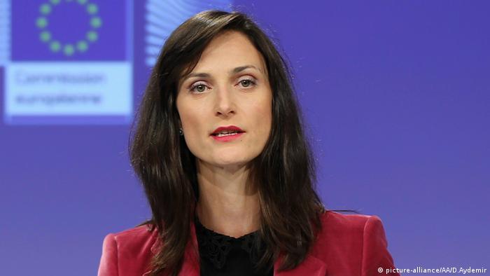 Mariya Gabriel, comissária europeia de Economia e Sociedade Digital