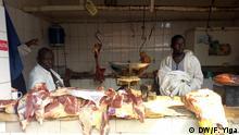 Uganda Fleish wird mit Formaldehyd behandelt