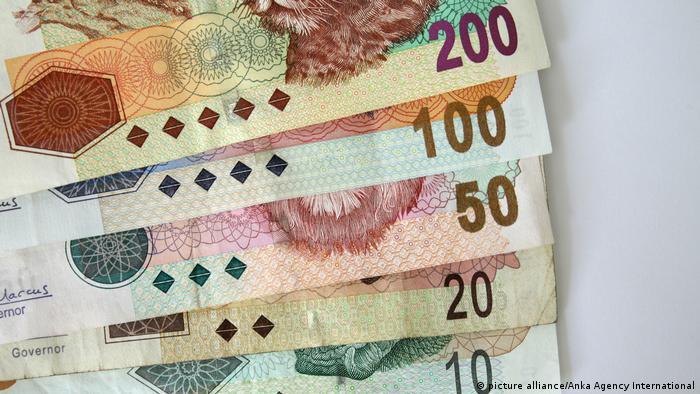 Südafrikanische Rand (picture alliance/Anka Agency International)