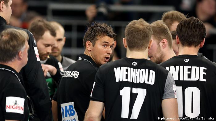 Handball EM 2018 Deutsche Handball Nationalmannschaft Deutschland vs Island (picture-alliance/C. Pahnke/Sampics)