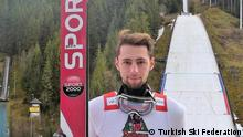 Skispringer aus der Türkei