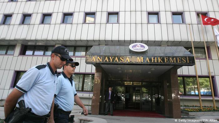 Türkei Verfassungsgericht in Ankara