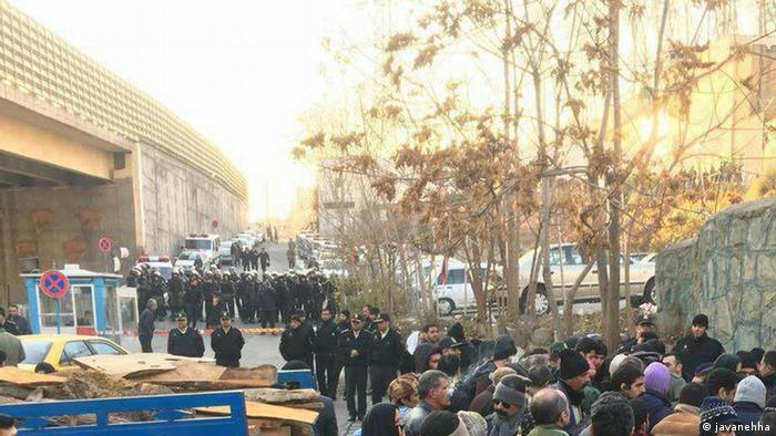 Iran Proteste (javanehha)