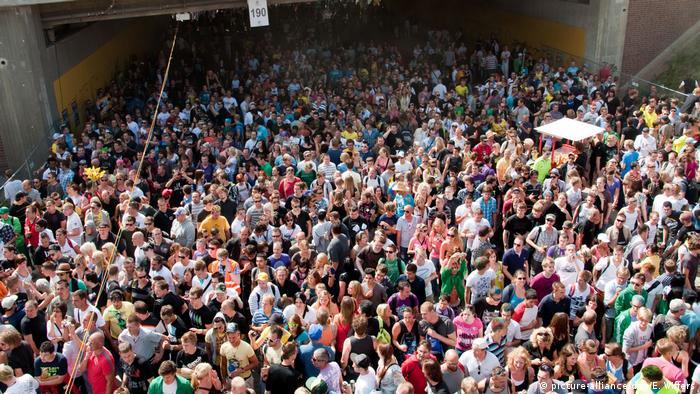 Deutschland Tote bei Loveparade 2010 in Duisburg