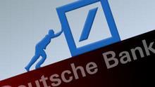Symbolbild Deutsche Bank schreibt schwarze Zahlen