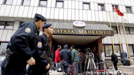 Turkey's Constitutional Court in Ankara (picture-alliance/dpa/A. Tumer)