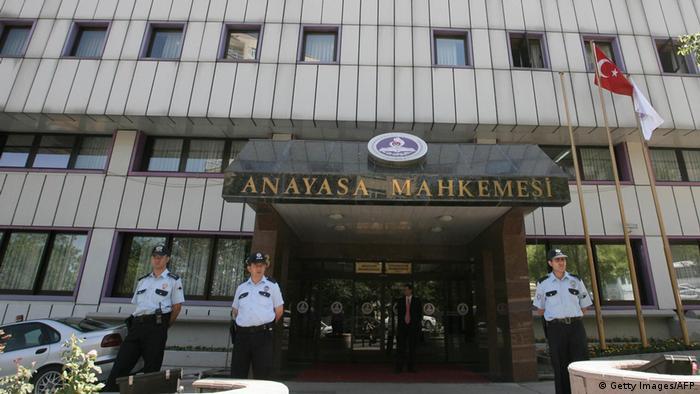 Türkei - Verfassungsgericht in Ankara