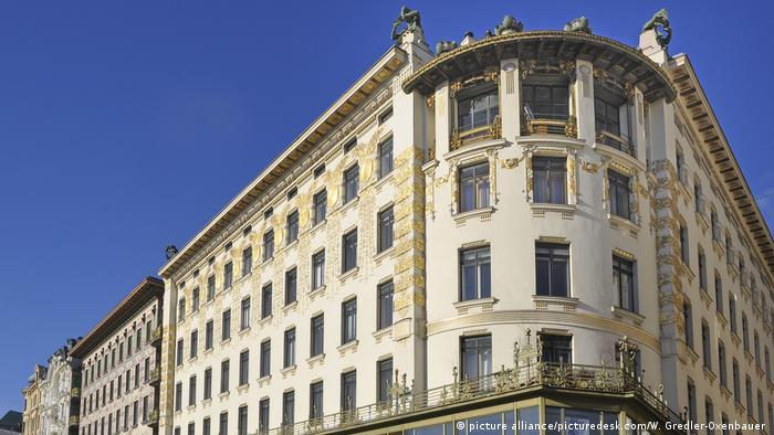 Österreich Wien - Otto Wagner Häuser (picture alliance/picturedesk.com/W. Gredler-Oxenbauer )