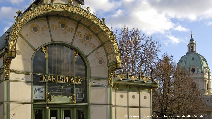 Österreich Wien - Pavillon am Karlsplatz (picture alliance/picturedesk.com/W. Gredler-Oxenbauer )