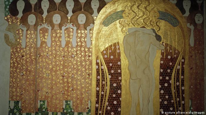 Gustav Klimt - Beethovenfries (picture alliance/akg-images)