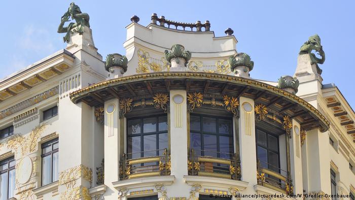 Österreich Wien - Otto Wagner Haus - Linke Wienzeile 38 (picture alliance/picturedesk.com/W. Gredler-Oxenbauer )