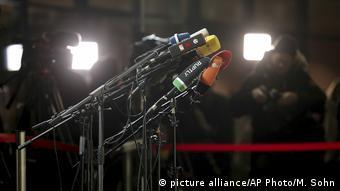 Εν αναμονή δηλώσεων στα κεντρικά του SPD στο Βερολίνο
