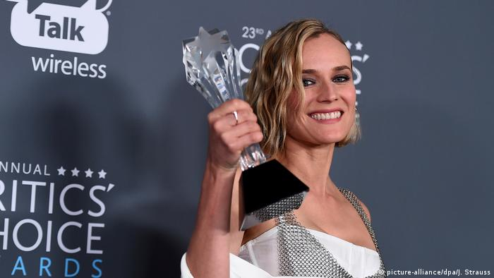 Critics' Choice Awards 2018 Diane Kruger (picture-alliance/dpa/J. Strauss)