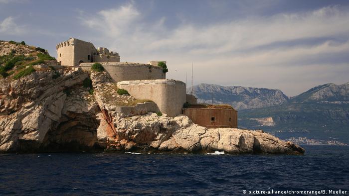 Kroatien Süd-Dalmatian Halbinsel Prevlaka Bucht von Kotor
