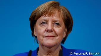 Deutschland PK Sondierungsgespräche in Berlin Merkel