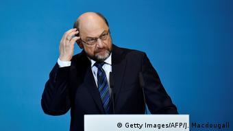 Deutschland PK Sondierungsgespräche in Berlin Schulz