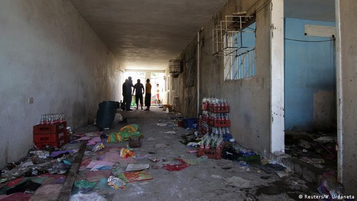 Venezuela Supermarkt nach Plünderung