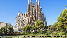 Spanien Katalonien Kirche La Sagrada Familia von Antoni Gaudi in Barcelona
