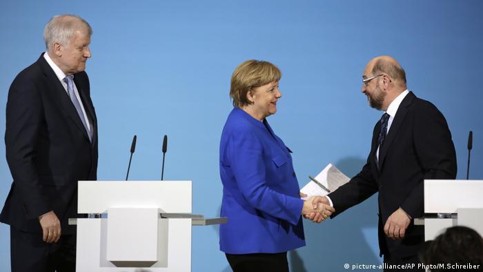 Sondierungen CDU SPD