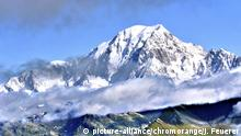 Frankreich Berg Mont Blanc