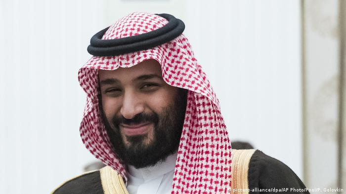 Mohamad bin Salman visiting Moscow, Russia (picture-alliance/dpa/AP Photo/Pool/P. Golovkin)