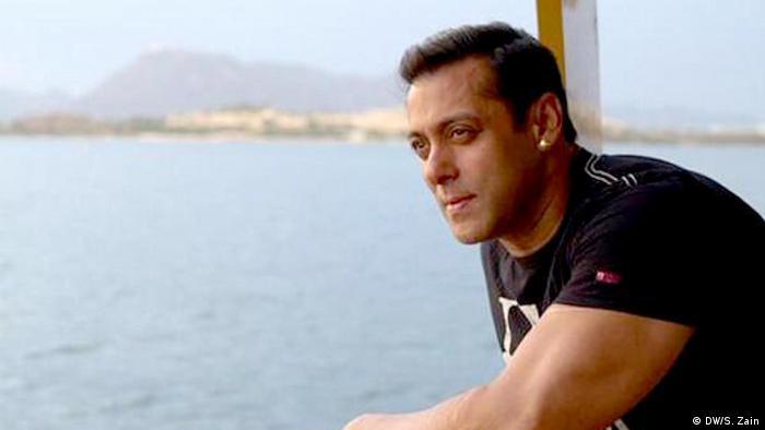 Indischer Filmschauspieler Salman Khan (DW/S. Zain)