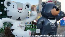 Südkorea Olympische Winterspiele 2018 in Pyeongchang