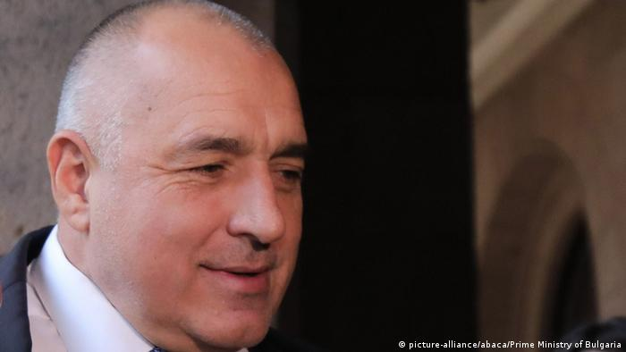 Bulgarien Ministerpräsident Boyko Borisov