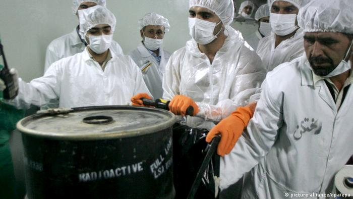 Iranian nuclear scientists (picture alliance/dpa/epa)
