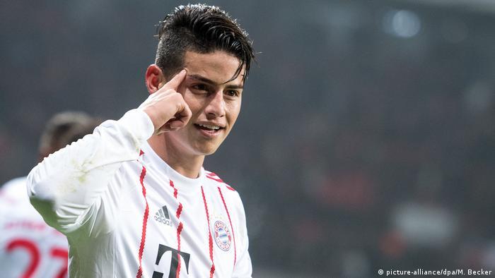 Fußball Bundesliga Bayer Leverkusen - Bayern München - Tor 1:3 (picture-alliance/dpa/M. Becker)