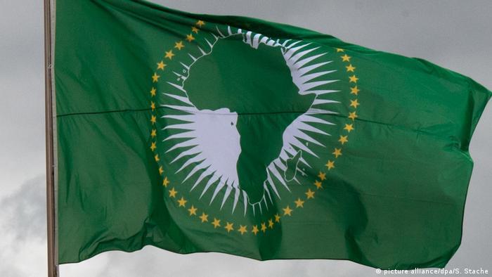Afrikanischen Union Fahne