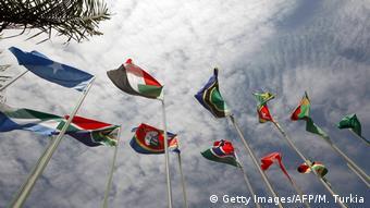 Versammlung der Afrikanischen Union - 30 teilnehmende afrikanische Nationen