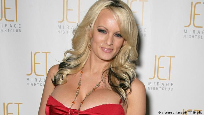 Stormy Daniels alias Stephanie Clifford (picture-alliance/MJT/AdMedia)